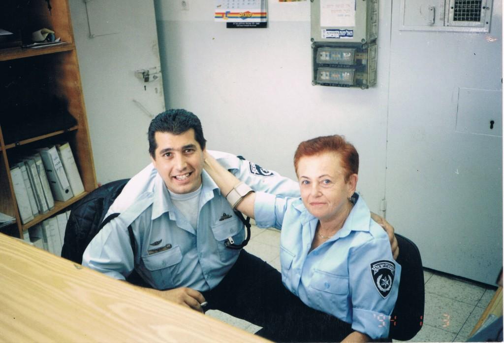 לאה דויטש במשטרת ישראל