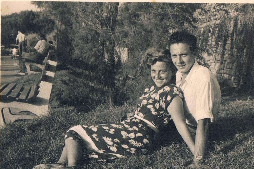 לאה ואליעזר דויטש לפני הנישואים